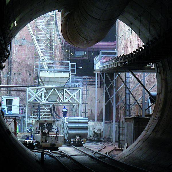 Metrotunnel Linie 9, Barcelona