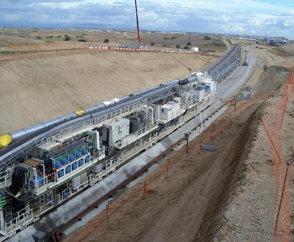 Eisenbahntunnel Mostoles, Madrid
