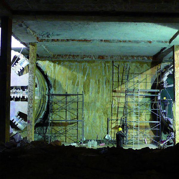 Túnel en Dehli