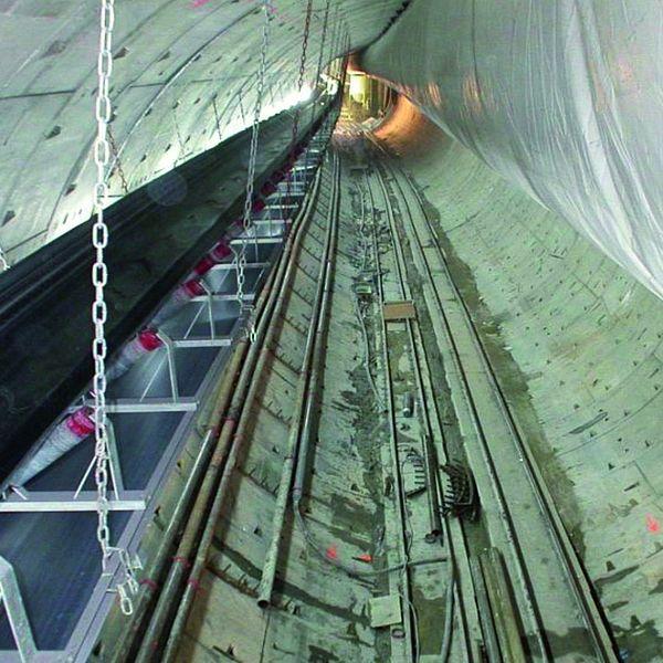 Túnel para autopista en Madrid