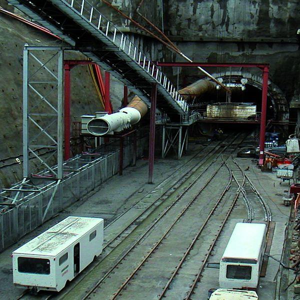 Túnel para metro en Gijón