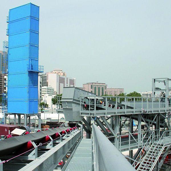 Túnel para metro en Dubái
