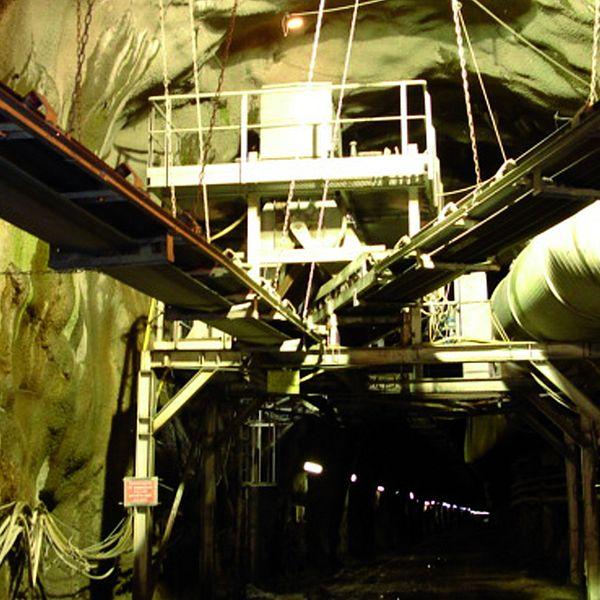 Túnel para hidroeléctrica en Glencoe (Escocia)