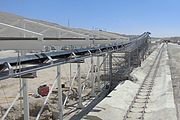 Wassertunnel Silvan Dam