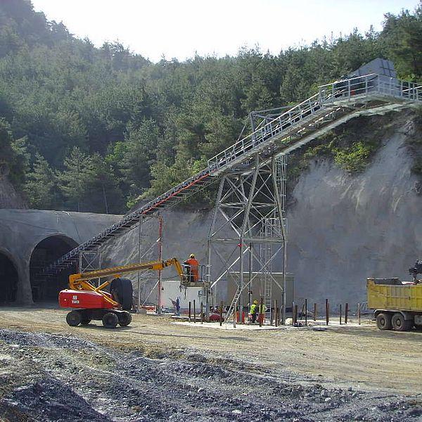 Железнодорожный тоннель, Эскизехир-Козекой