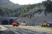 "Eisenbahntunnel ""Eskişehir-Köseköy"""