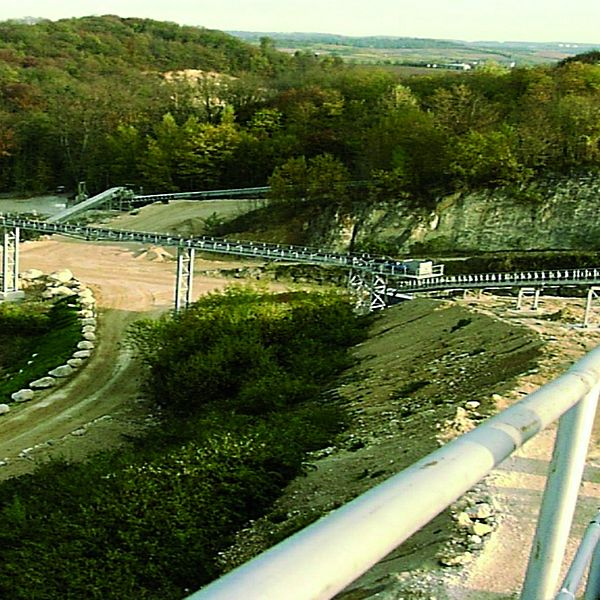 Quarry Distribution Conveyor, Germany