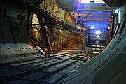 Hochgeschwindigkeitsbahntunnel Trinidad