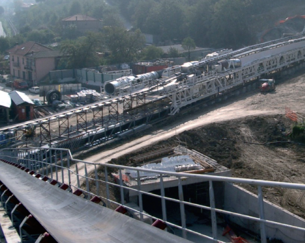 Railway Tunnel S. Lorenzo Al Mare, Andora, Italy